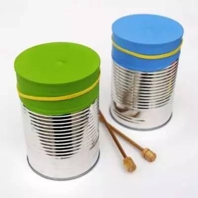 旧物改造9款铁罐的手工作品