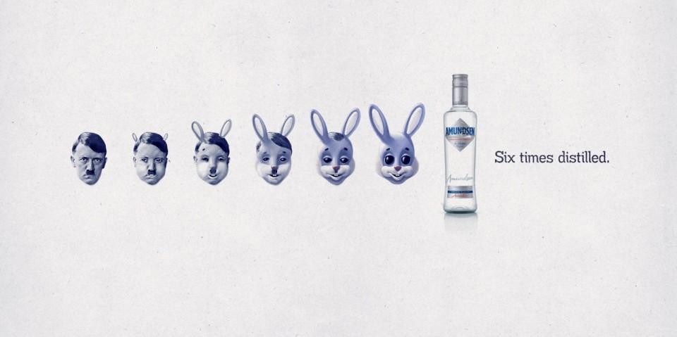 捷克Amundsen伏特加广告:六次蒸馏 再坏也会变好