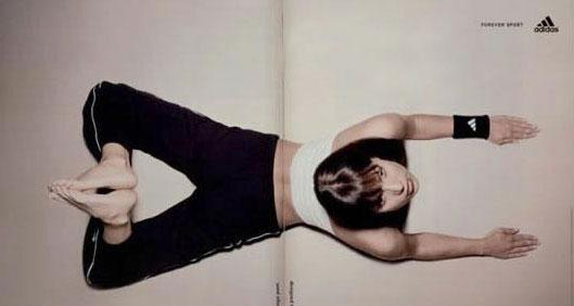 Adidas 折页宣传册广告创意欣赏
