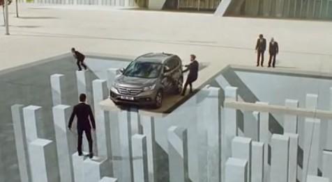 本田CR-V视觉错觉汽车广告