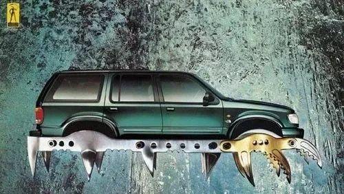 脑洞大开的汽车创意广告!