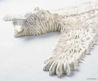 """Eelko Moorer的 """"熊皮""""地毯"""
