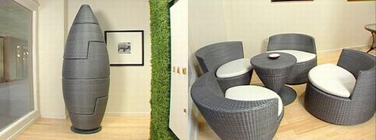 组合橄榄沙发