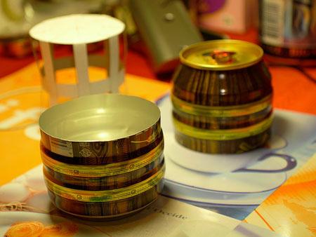 _易拉罐改造的音响-详细描述-玩意儿