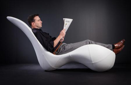 流线型躺椅
