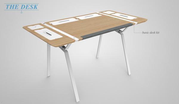 模块化收纳桌1