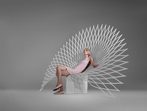 霸气孔雀椅