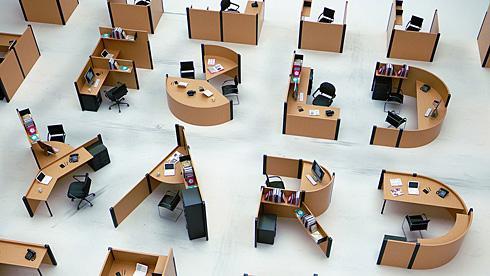 A-Z字母办公桌