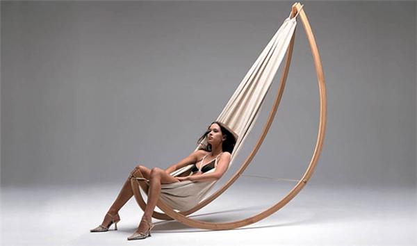 舒适的摇椅吊床