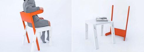 简单多用变形座椅