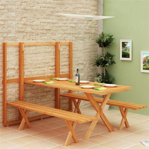 节省空间的组合餐桌