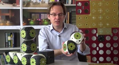 模块化机器人打造的智能家具