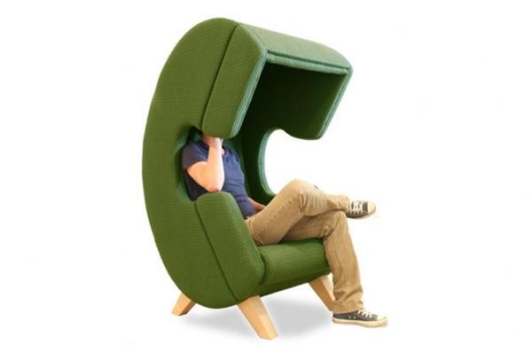 隔离外界一切干扰的座椅