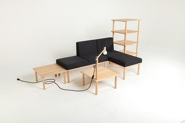 模块化组合家具 FreiRaum
