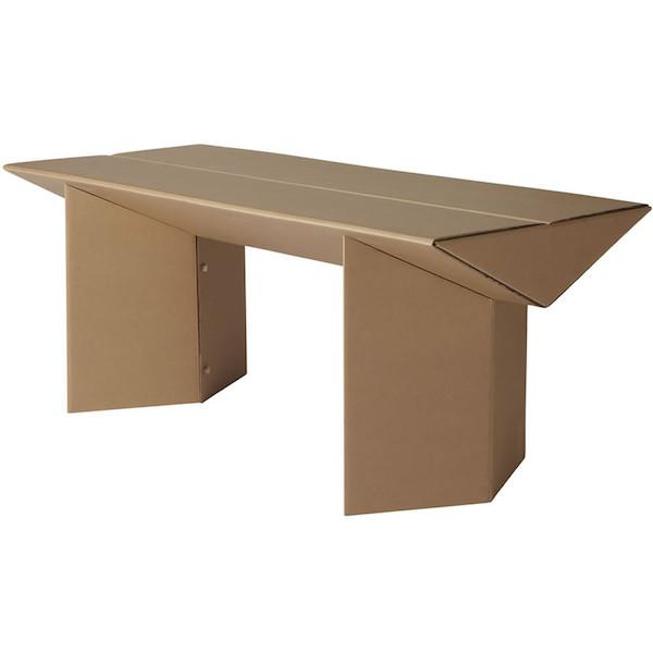 环保、结实、方便的硬纸板家具