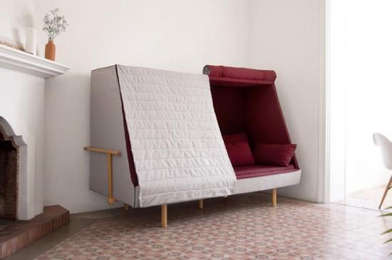 沙发、睡床与独立小屋