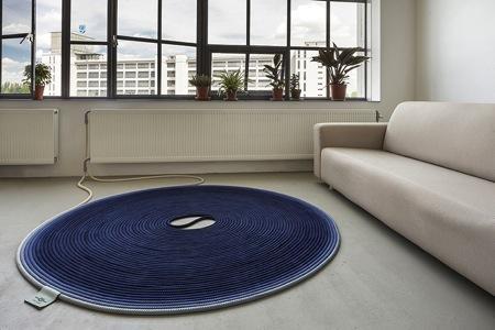 线圈式可加热地毯