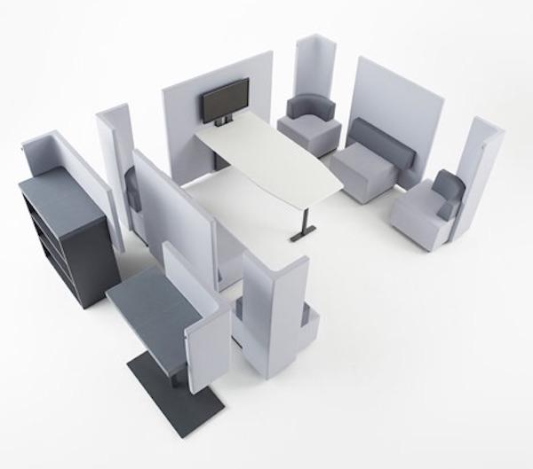 模块化办公家具