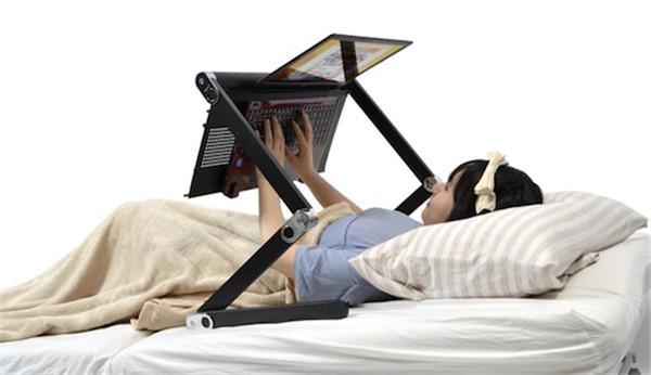 懒人折叠电脑桌
