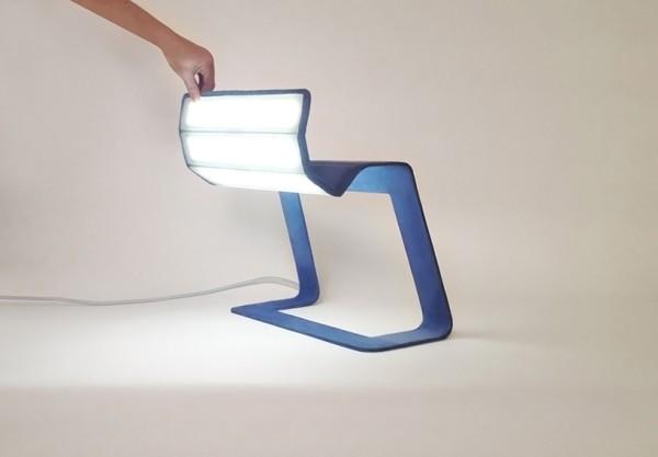 可翻折的LED灯