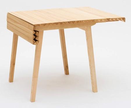 卷帘式餐桌