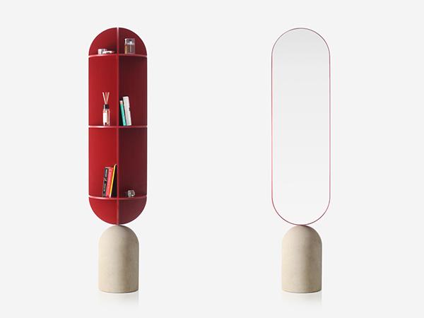 镜子与置物架 Orte