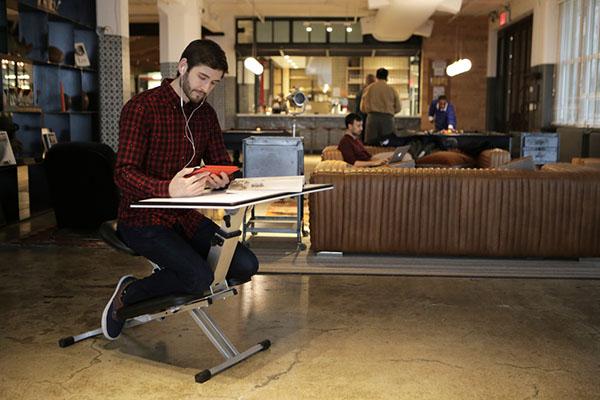 让你坐得轻松的折叠办公桌