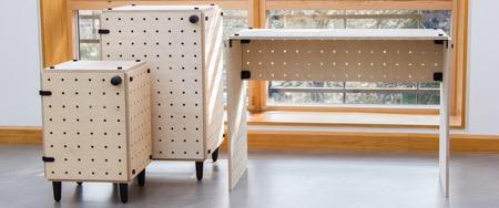 变化多端的洞洞家具