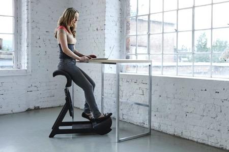 让你坐得健康的站立式座椅