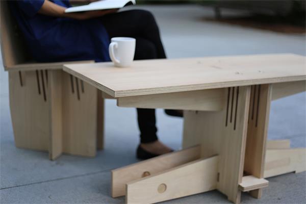 像积木一样任意拼装的家具