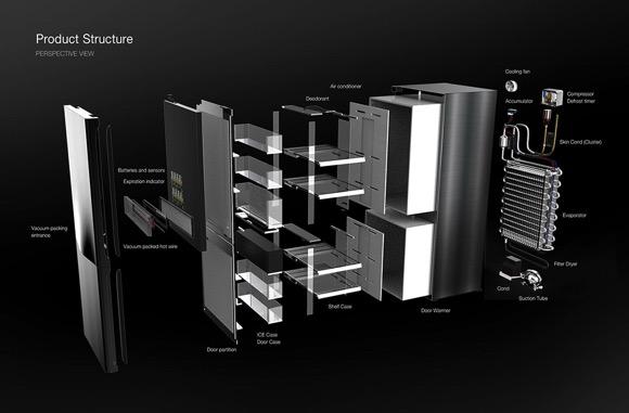 带真空封装功能的冰柜