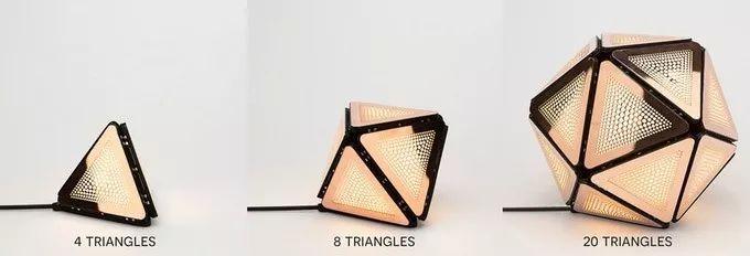 SMARTBUNCH带磁性的模块化灯具 像积木一样拼接