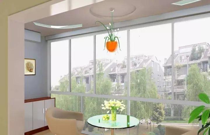 新型的落地窗系统
