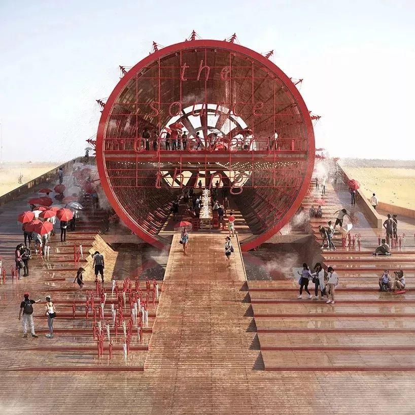 2020年迪拜世博会,奥地利馆的巨型水车值得一看