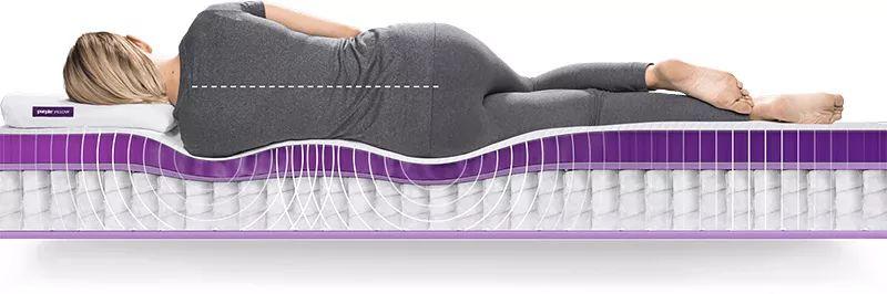 Purple Mattress高科技床垫,弹性好到令人难以置信