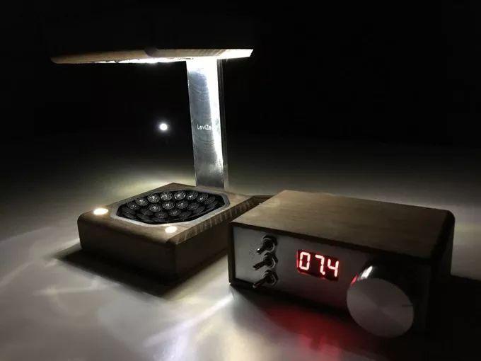 可让水滴悬浮的台灯LeviZen,利用声悬浮技术实现失重效果-玩意儿