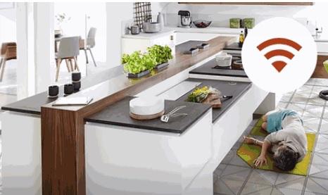 Tielsa公司打造智能厨房,厨具内嵌可升降设计,带报警功能-玩意儿