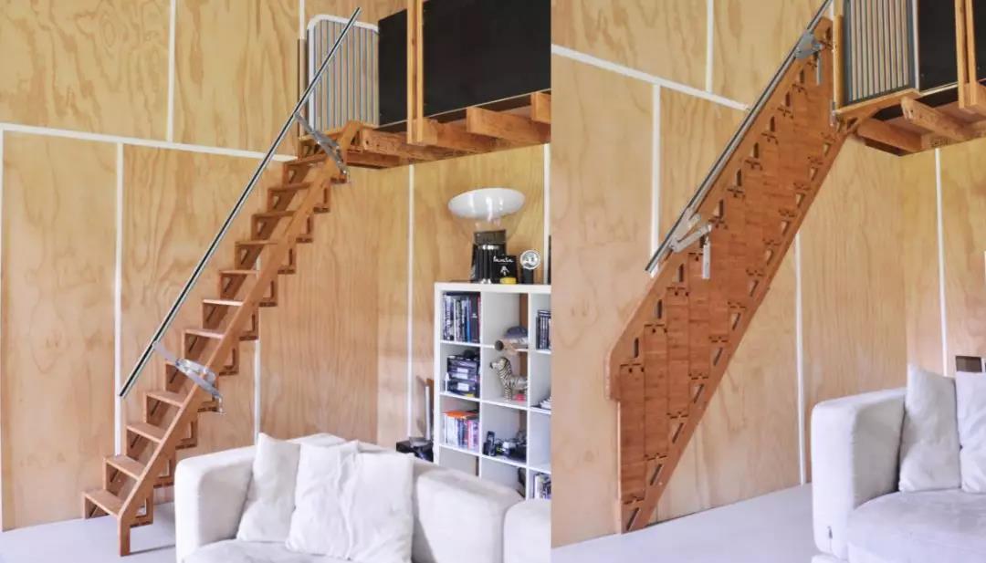 Hybrid Stairs折叠楼梯,你见过吗?