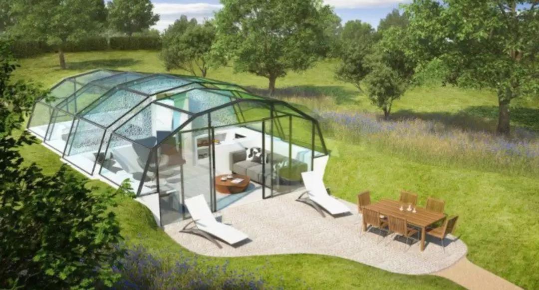 牛津大学为了让人们睡得更好,造了一个全透明玻璃房子