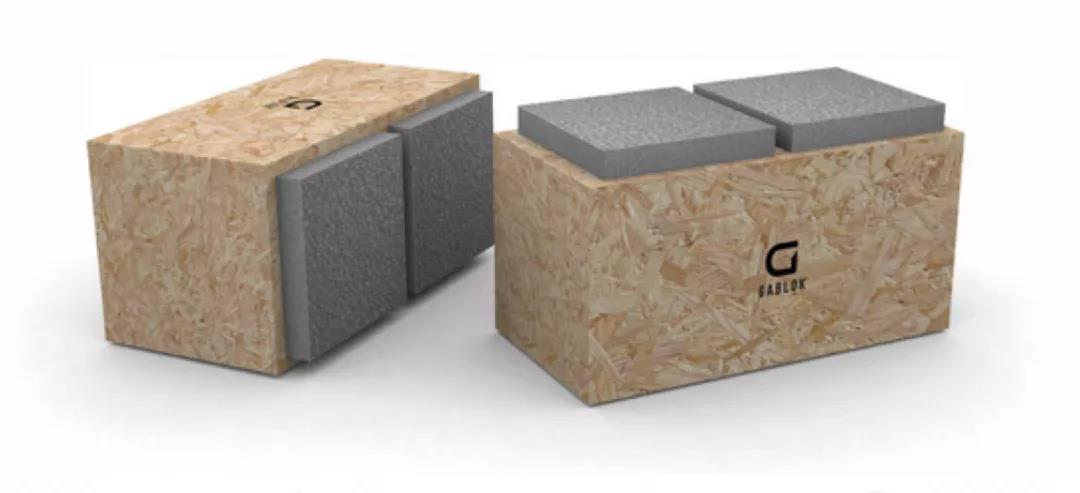 有了这种木制砖头 建房子就像拼积木不用钢筋水泥