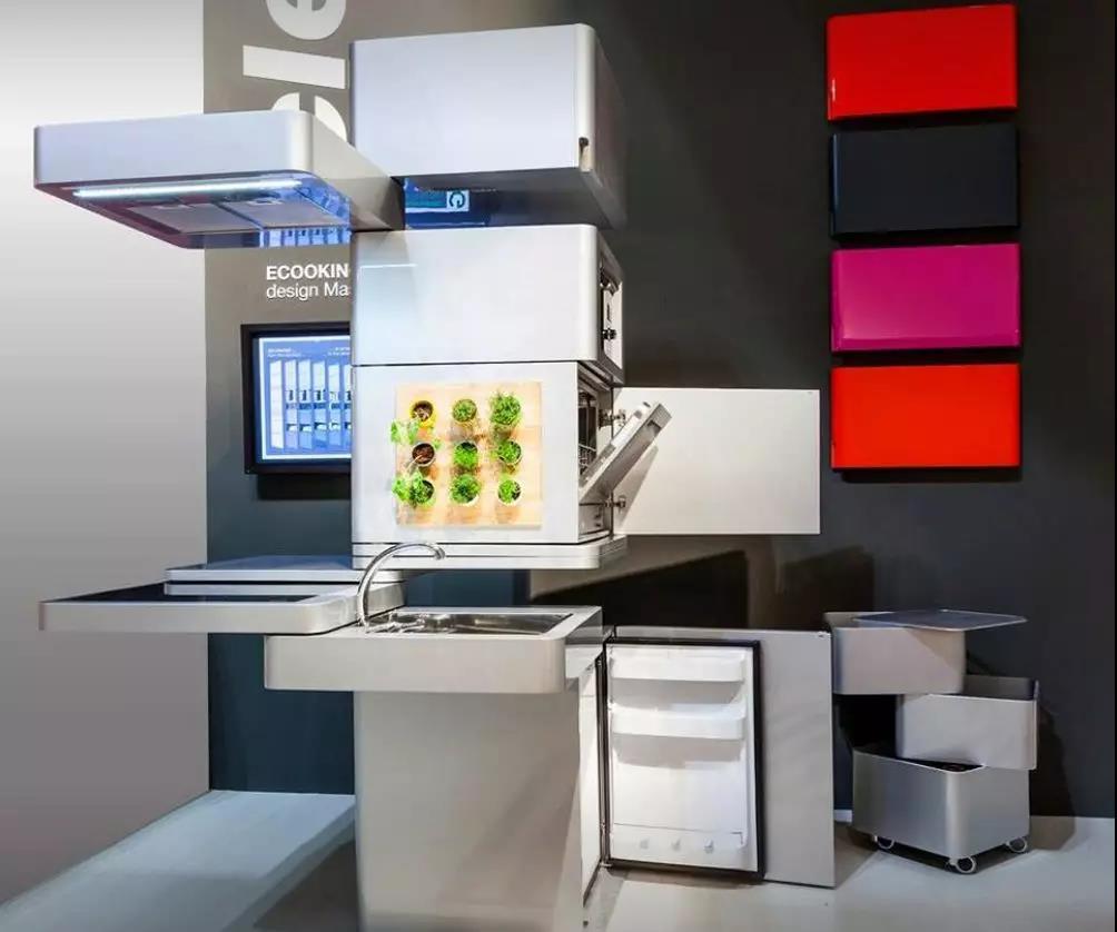 一体化厨房 占不到1平方米空间