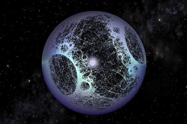 """宇宙高级文明可利用黑洞""""摄取""""恒星能量"""
