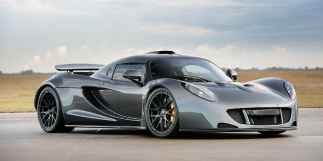 Hennessey改装厂Venom GT跑车时速达到435.31公里