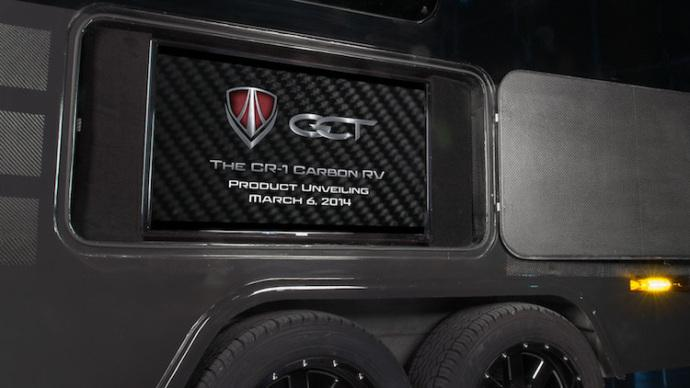 95%碳纤维豪华拖车CR-1-内容详情-玩意儿