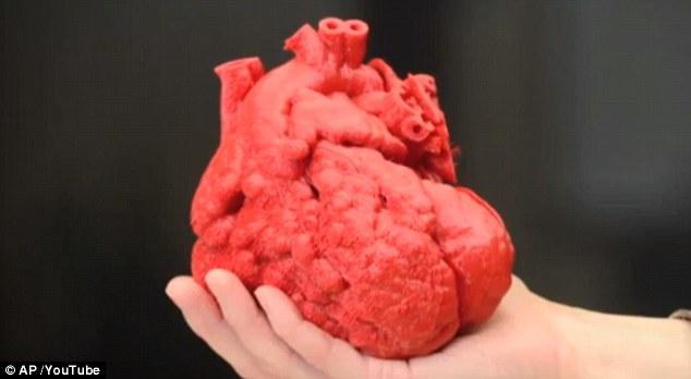 科学家称五年内将实现3D打印人类心脏