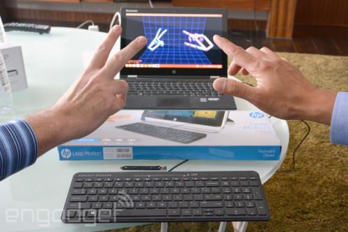 惠普Leap Motion手势键盘-具体内容-玩意儿
