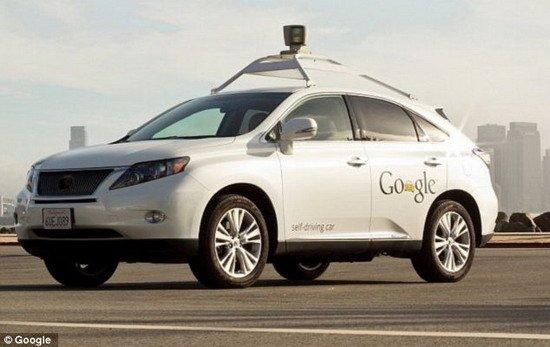 谷歌研发机器人出租车 无人驾驶自动搭载乘客-详细描述-玩意儿