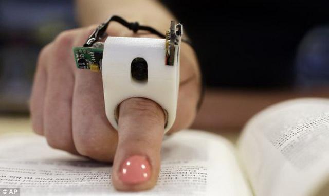 手指阅读器 闭着眼睛也能读书-产品描述-玩意儿