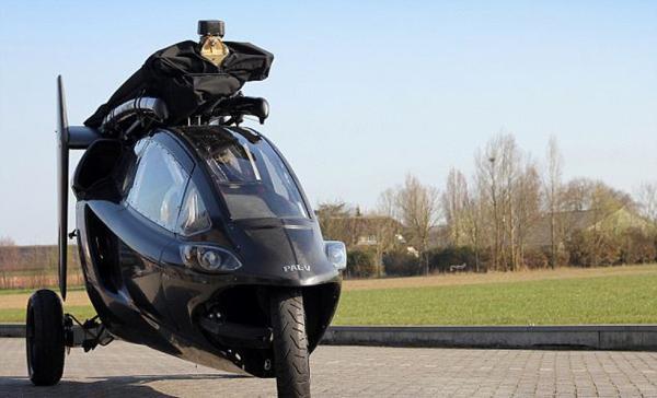 全球首款飞机摩托车发售 变形旋翼飞机只需10分钟-具体内容-玩意儿