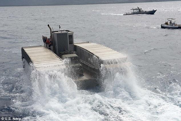 美水陆两栖坦克:可翻3米高墙壁-详细描述-玩意儿
